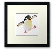 Dancing Penguin Framed Print