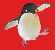 Dancing Penguin One Piece - Long Sleeve