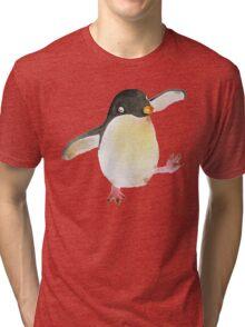 Dancing Penguin Tri-blend T-Shirt