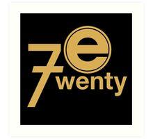 Entertainment 720 Art Print