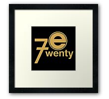Entertainment 720 Framed Print