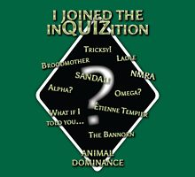 InQUIZition Green - OG Womens Fitted T-Shirt