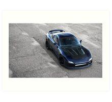 Mazda RX7 Art Print