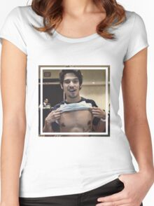 Tyler posey Women's Fitted Scoop T-Shirt
