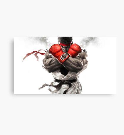 Street Fighter V: Ryu Poster Canvas Print