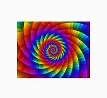 Psychedelic Rainbow Spiral Unisex T-Shirt