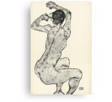 Egon Schiele - Zeichnungen IX. 1915 Canvas Print