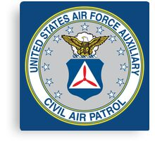 Civil Air Patrol Seal Canvas Print