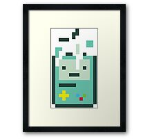 Building Beemo Tshirt | Adventure Time Tetris Finn Jake Gameboy Nintendo Retro Atari Space Invaders T-Shirt Princess Bubblegum Sega Sonic Framed Print