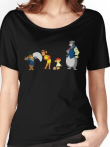 Talespin Bebop - The Full Crew Women's Relaxed Fit T-Shirt