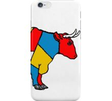 Mondrian Cow iPhone Case/Skin