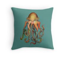 Octopus or Squid? It's a Cephalopod! Throw Pillow