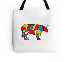 Mondrian Cow Tote Bag