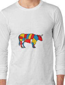 Mondrian Cow Long Sleeve T-Shirt