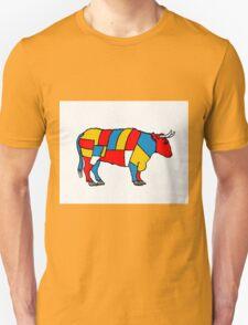 Mondrian Cow Unisex T-Shirt