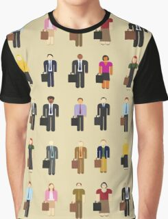 The Office: Characters Graphic T-Shirt