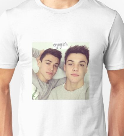 The Dolan Twins Enjoy Life Unisex T-Shirt