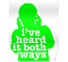 Psych - I've Heard It Both Ways Poster