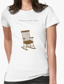 After all these years Womens Fitted T-Shirt
