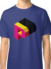 Letter P Isometric Graphic Classic T-Shirt
