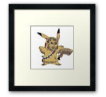Chewbacca Pikachu - Star Wars Framed Print