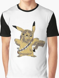 Chewbacca Pikachu - Star Wars Graphic T-Shirt