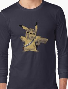 Chewbacca Pikachu - Star Wars Long Sleeve T-Shirt