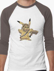 Chewbacca Pikachu - Star Wars Men's Baseball ¾ T-Shirt