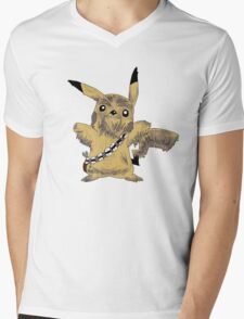 Chewbacca Pikachu - Star Wars Mens V-Neck T-Shirt