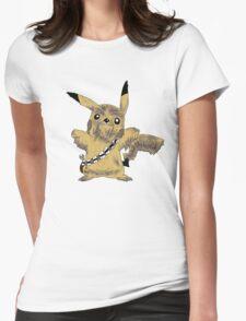 Chewbacca Pikachu - Star Wars Womens Fitted T-Shirt