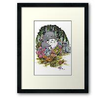 Fuzzy Spirit Framed Print
