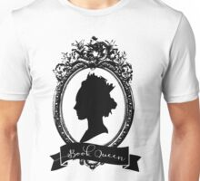 Book Queen (B&W) Unisex T-Shirt