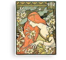 The Red-Haired Lady (Ermitage) art nouveau masterpiece Canvas Print