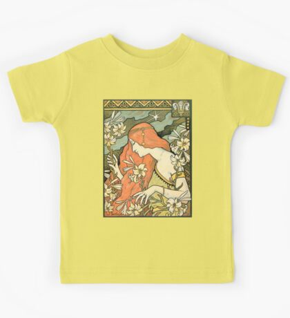 The Red-Haired Lady (Ermitage) art nouveau masterpiece Kids Tee