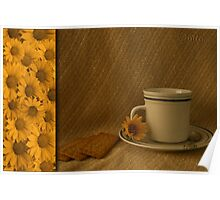 Sunflower Tea... (Free State, South Africa) Poster