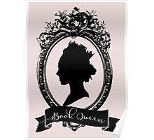 Book Queen (Pink) Poster