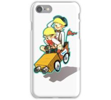 Double Trouble Takes the Lead iPhone Case/Skin