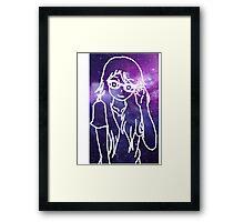 Space Nerd Framed Print
