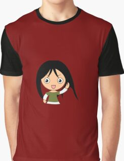 Red GirL Graphic T-Shirt