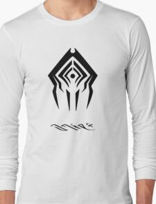 Stalker With Tenno language Long Sleeve T-Shirt