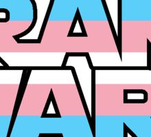 Trans Wars Sticker