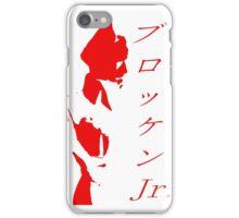 Brocken Jr Stencil iPhone Case/Skin