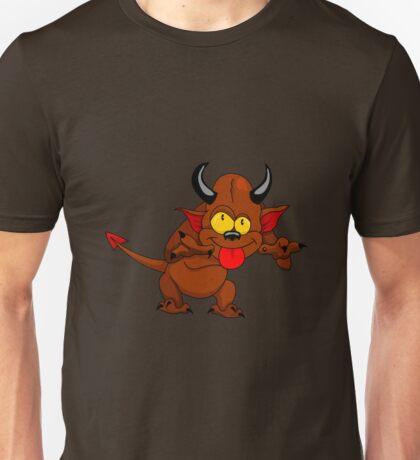 Cartoon devil Unisex T-Shirt