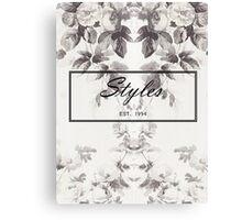 Harry Styles Gucci Pattern Canvas Print