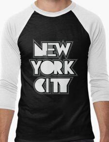 New York City Men's Baseball ¾ T-Shirt