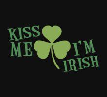 KISS ME IM IRISH  One Piece - Short Sleeve