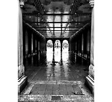 Bethesda Square - Central Park NYC Photographic Print