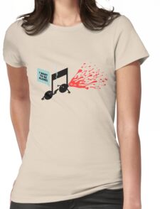 break-up song Womens Fitted T-Shirt