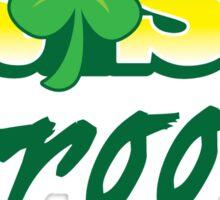 Irish GROOM St Patricks Day Ireland wedding  Sticker