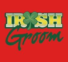 Irish GROOM St Patricks Day Ireland wedding  One Piece - Long Sleeve